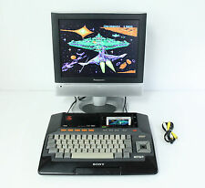 "Sony MSX HiTBiT HB-101 Personal Computer Console ""Excellent ++"" Tested Properly!"
