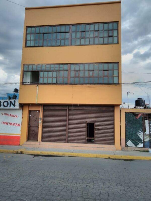 Venta Edificio, costado de Soriana la Conchita, Chalco