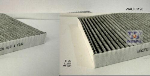 WESFIL CABIN FILTER FOR Dodge/& Dodge USA Journey 3.6L V6 2012-06//13 WACF0126