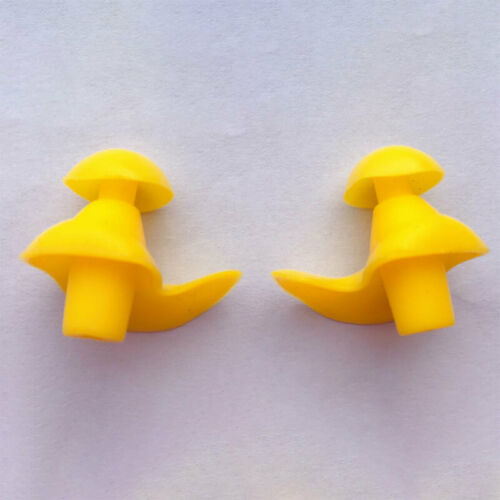 1Pair Silicone Ear Plugs Ear Muffs Anti Noise Diving Swimming Earplug Dust-Proof