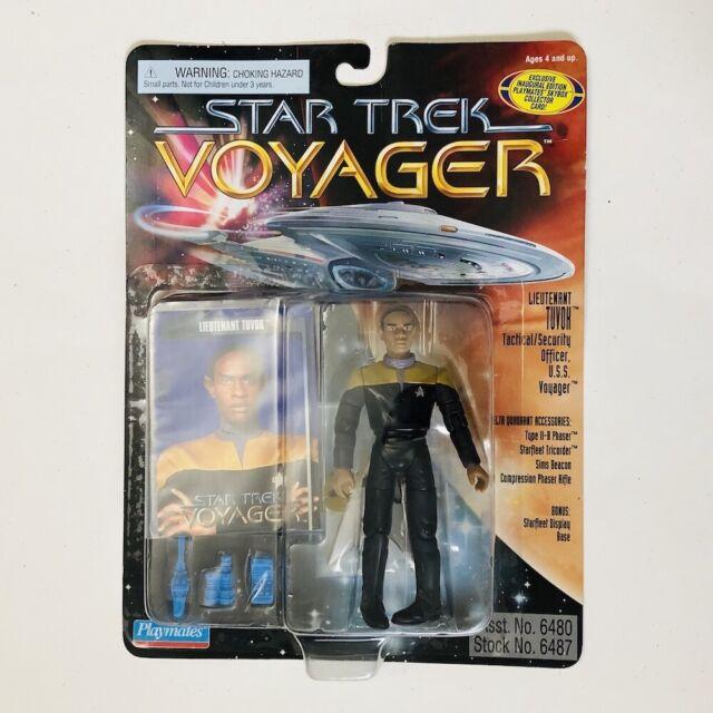 LIEUTENANT TUVOK Star Trek Voyager Action Figure Playmates 1995 MOC!!