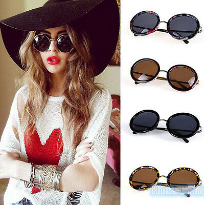 Fashion Women Vintage Retro Fashion Aviator Mirror Lens Sunglasses Glasses