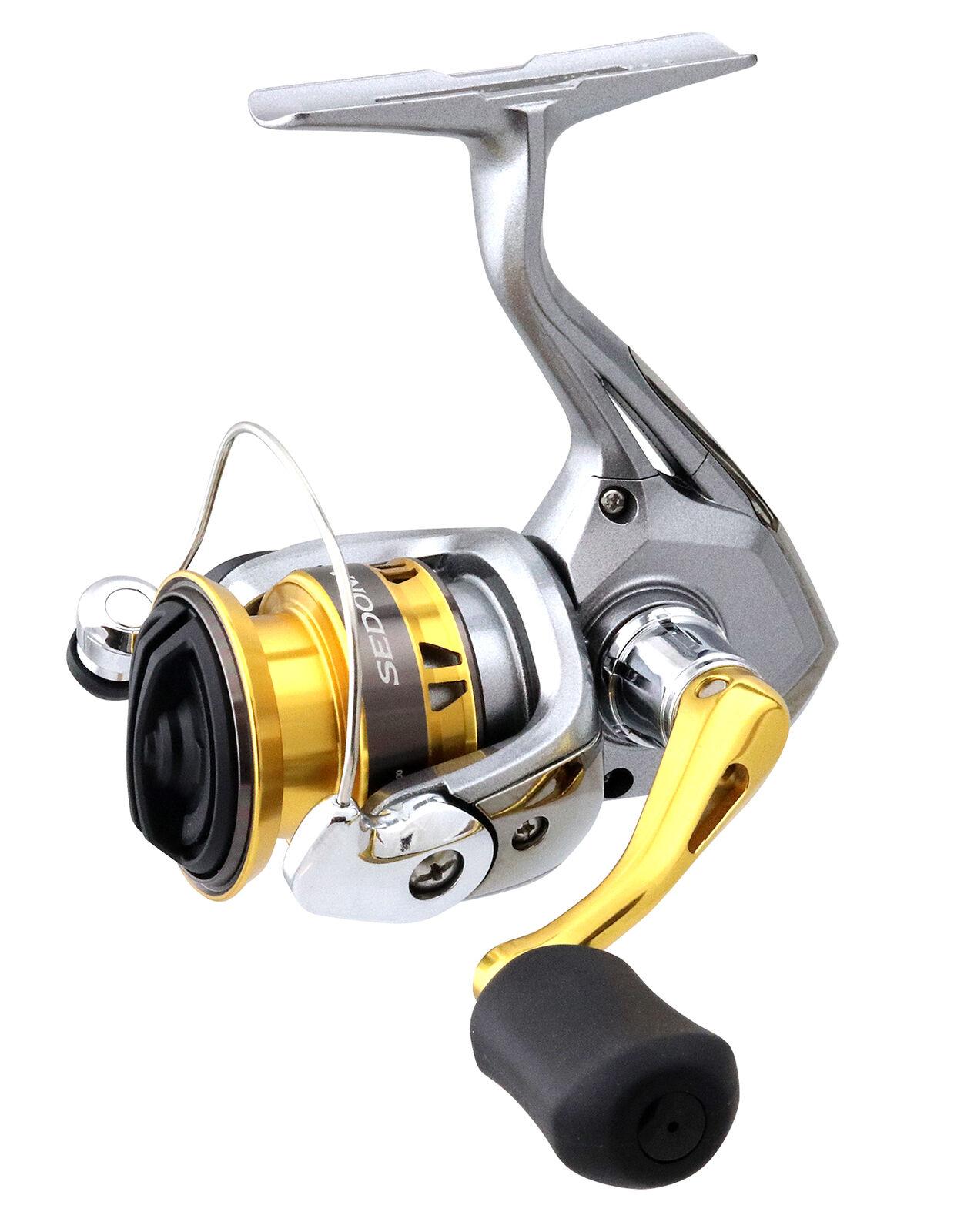 Shimano Sedona FI Spinning Reels - Bass, Trout,  Redfish, Striper, & Panfish Reel  promotional items