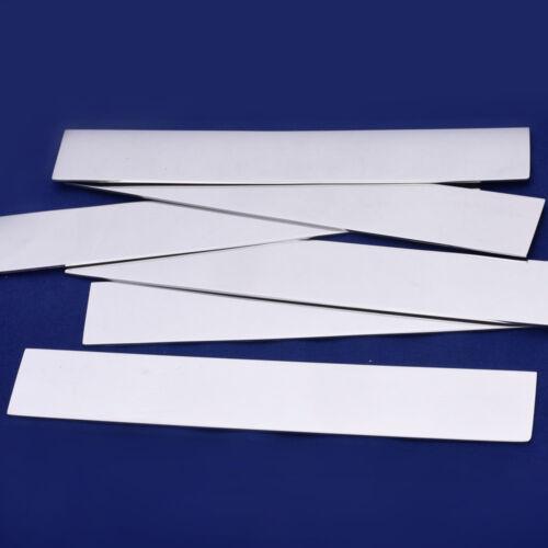 """10pcs 1/""""x7/""""  tibetara Stainless Steel Strip Stamping Blank 18 Gauges 10144450"""