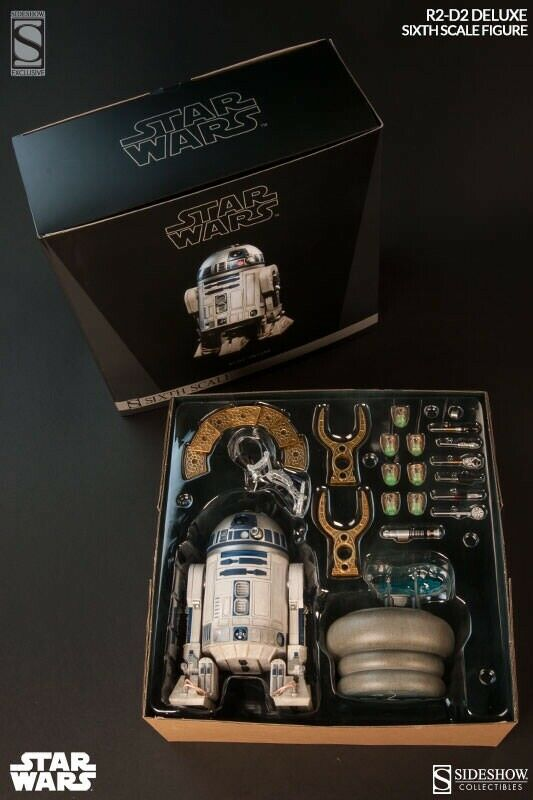 1 6 R2D2 Deluxe Version (Sideshow)