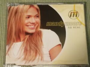 MANDY MOORE SO REAL RARE 4 TRACK IMPORT REMIX CD SINGLE FREE SHIPPING