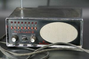 Vintage-1970-039-s-Bearcat-III-Electra-FM-Monitor-Receiver-Police-Fire-Scanner