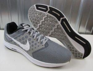 8bc86c8721ba NICE Nike Downshifter 7 Grey White Running Training Shoes Men s size ...