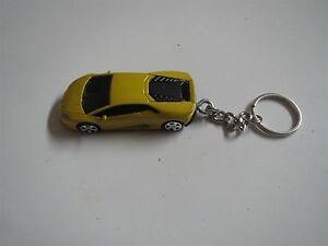 Lamborghini Huracan Lp 610 4 Diecast Model Toy Car Keychain New
