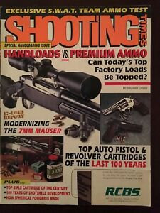 Shooting Times Feb 2000, Hand Loads Vs Premium Ammo, 7 MM Mauser