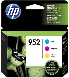 HP-952-3PK-NEW-GENUINE-Ink-Cartridges-For-Officejet-8710-8210-8720-8730-Series
