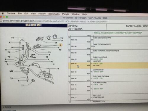CITROEN  Peugeot talbot  j5 c25 fiat  Ducato Fuel Diesel petrol cap  150868 lock