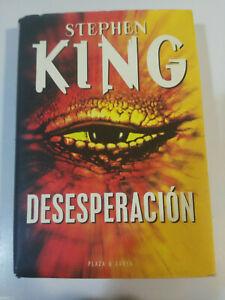 STEPHEN-KING-DESESPERACION-LIBRO-PLAZA-amp-JANES-612-PAGS-1996-TAPA-DURA