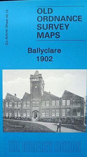 Old Ordnance Survey Maps Ballyclare Co Antrim  Ireland 1902 Godfrey Edition