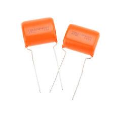 Orange drops Sprague 716p//0,22µf 600vdc 4 UNID original High Performance.