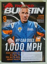 """THE RED BULLETIN """"MY CAR DOES 1,000 MPH"""" Andy Green cover February 2015 NEW!"""