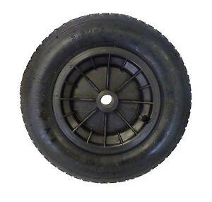 "14/"" YELLOW Pneumatic Wheelbarrow Wheel Tyre 3.50 4.00-8 Inner Tube Innertube"