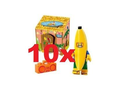 YEAR 2018 LEGO® 5x Banana Guy 5005250 HOUSE FACTORY SEALED PROMO NEW