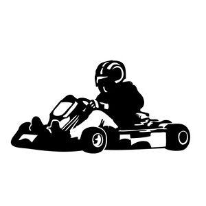Details Zu Kart Aufkleber Tattoo Folie Auto Kfz Tuning Kartsport Gokart Motorsport Kart