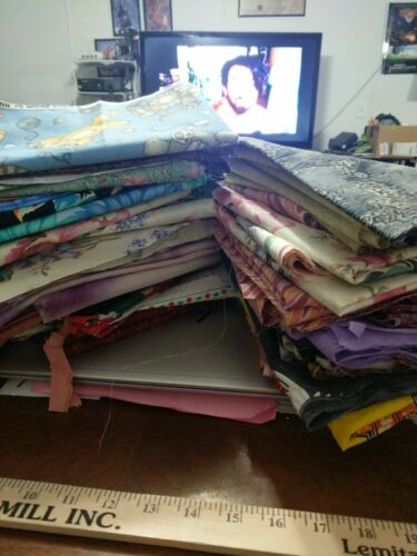 High Quality Lot of 10 Half Yards 100/% Cotton Quilting Fabric No Duplicates