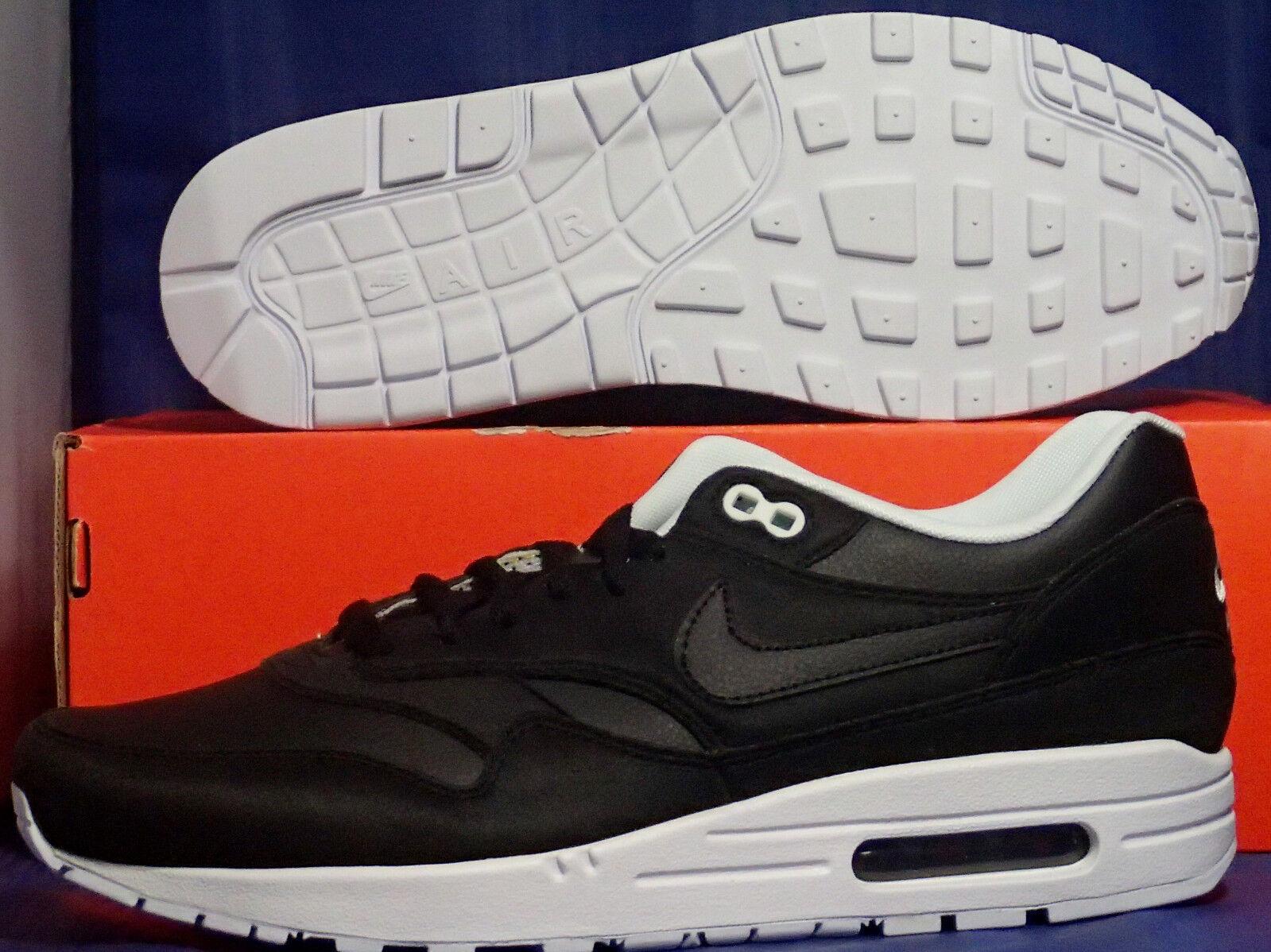 Nike Air Max 1 Identifikation Schwarz Weiß Sz 9.5 (433213-999) (433213-999) (433213-999) 12d541