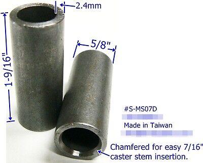 "Oajen 2/"" soft wheel chair caster 5 pcs 7//16/"" x 7//8/"" grip ring hardwood floor"