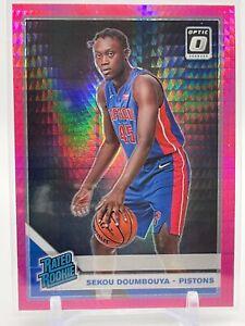 2019-20 Donruss Optic Basketball SEKOU DOUMBOUYA Rated Rookie RC Pink Hyper #164