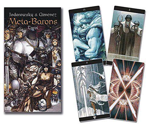 Meta Barons Tarot Deck Cards Wiccan Pagan Metaphysical