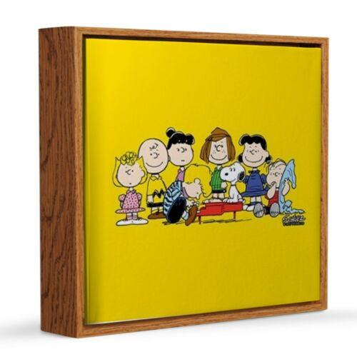 CafePress Peanuts Gang Music 12x12 Canvas Print 447648070