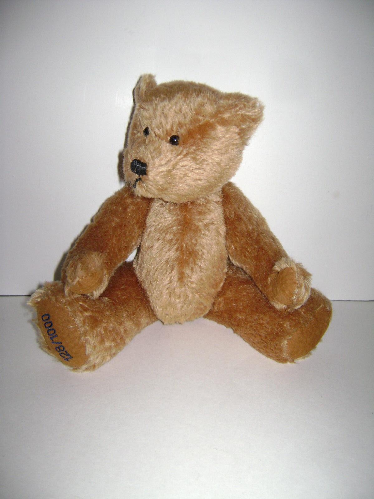 Hermann Teddy Original Bear Blonde Mohair Plush 128 1000 Jointed Made Germany