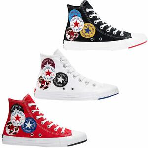Converse Chuck Taylor All Star Hi logo PLAY Femmes-Sneaker Chuck Chaussures High NEUF