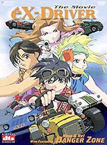 eX-Driver-The-Movie-DVD-2004-plus-Nina-amp-Rei-Danger-Zone-region-1-anime