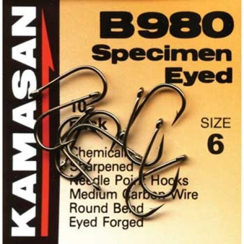 Kamasan b980 spécimen eyed crochets