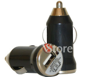 Akku-Ladegeraet-Auto-12V-Mini-USB-Schwarz-fuer-samsung-LKW-24V-A1-Reisetaschen