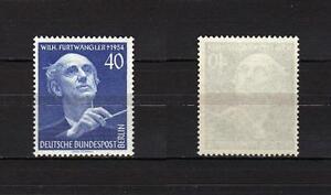 53-Germania-Berlino-Festival-musicale-Furtwangler-1955-Nuovo-MNH