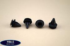 10 x Paraurti Clip di fissaggio per OPEL CORSA B riquadro & Station Wagon - 1406984