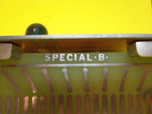 Raycon Special B 1680013 A2C-1 78 EDM On Fault Refeed Reverse PLC Board Ray con