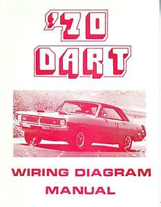 1970 70 dodge dart wiring diagram manual ebay. Black Bedroom Furniture Sets. Home Design Ideas