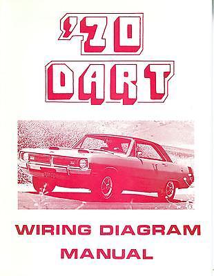 1970 70 DODGE DART WIRING DIAGRAM MANUAL | eBayeBay
