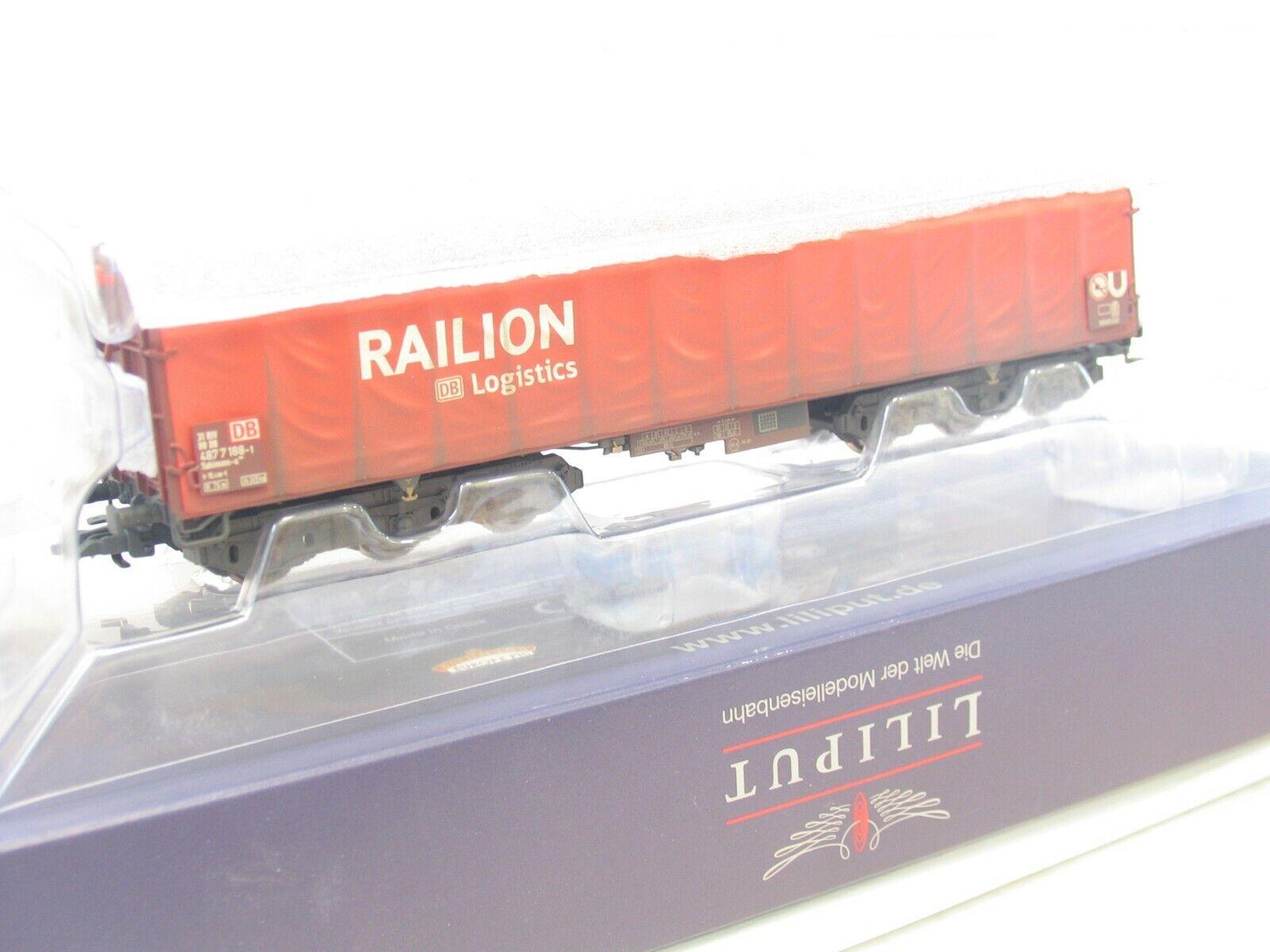 """OVP PIKO H0 54399 Schiebeplanenwagen /""""Railion/"""" GK 140"""