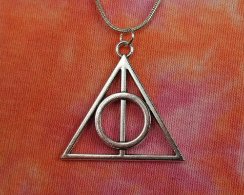 Harry Potter Cadeau Bijoux Livre Film Charme Pendentif Mortellement Hallows Collier