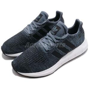 ec101e912 adidas Swift Run Raw Steel Navy Black Men Running Shoes Sneakers ...