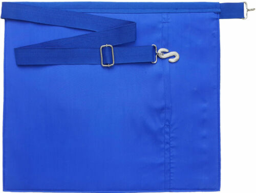 ASSISTANT SECRETARY--3140 MASONIC BLUE LODGE OFFICER APRON  EMBROIDERED