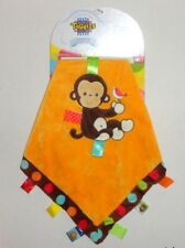 Mary Meyer E7 Baby 16in Taggies Dazzle Dots Monkey Security Blanket 39316
