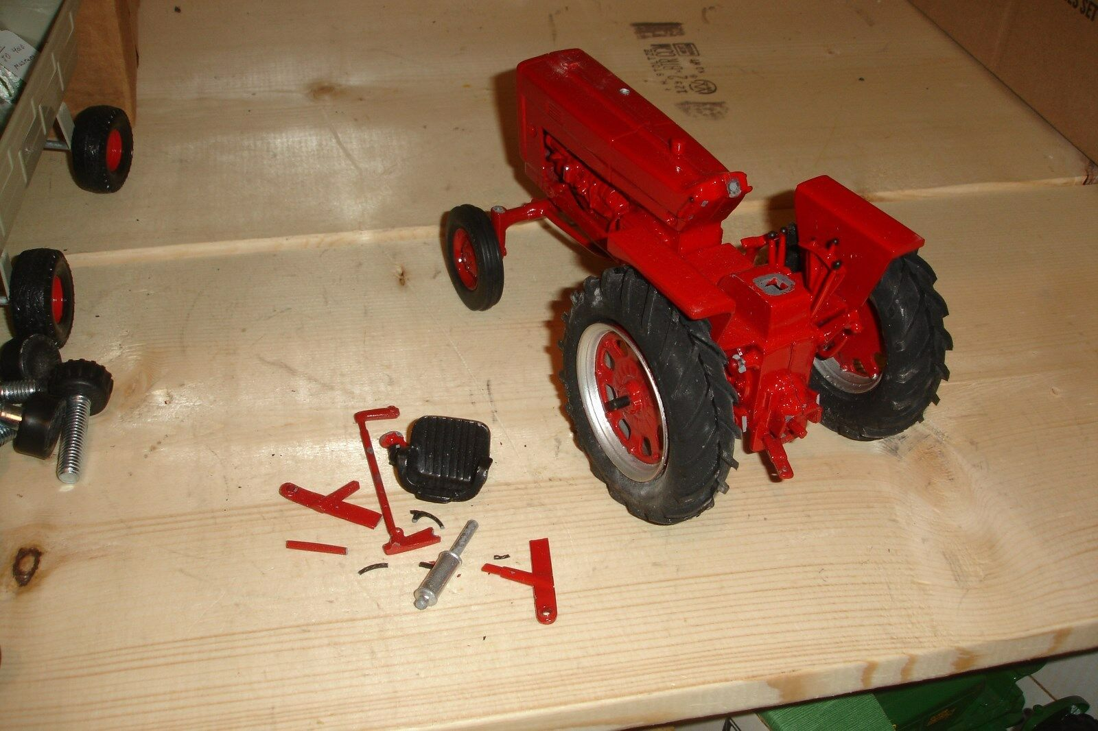 1 16 international 706 diesel land of lincoln toy tractor