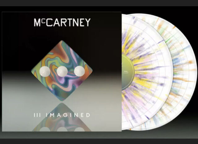 Paul McCartney III Imagined Limited Edition Exclusive Splatter 2LP Limited PO