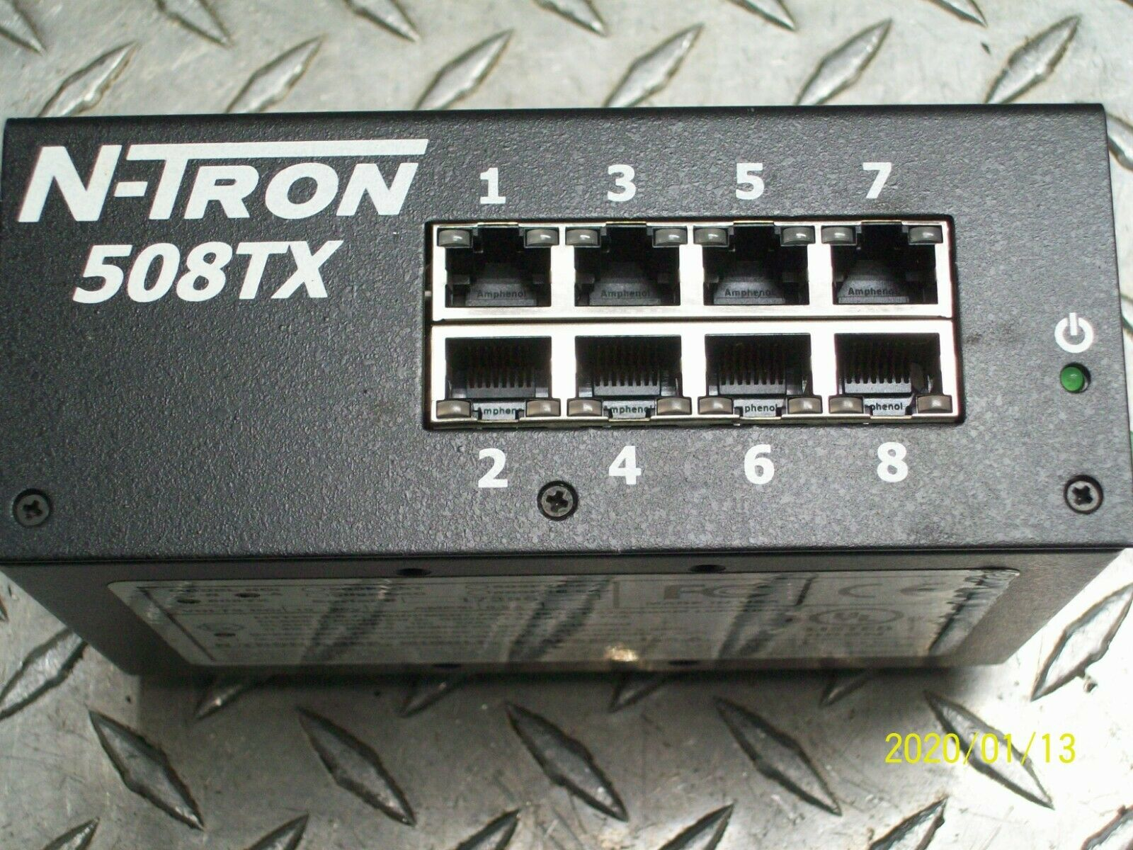N-Tron 508TX-A Industrial Managed Ethernet Switch 8-Port 10//100Mbit//s 10-30VDC