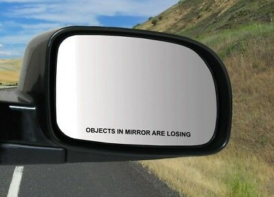 set of 2 Objects in Mirror Are Losing Decals