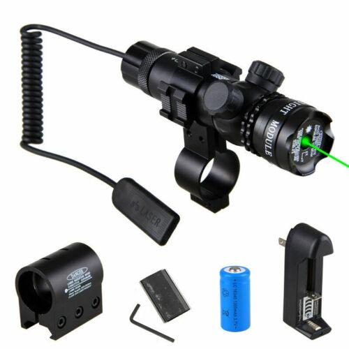 Taktisch Rot Grün Laser Punkt Anblick Bereich Strahl Lazer 20mm Schienen Montage