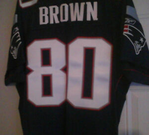 e434af5044c Image is loading NEW-AUTHENTIC-Troy-Brown-Patriots-Jersey-Reebok-RBK-